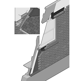 Trouble-Free Flashing for Brick Veneer